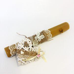 lumanare-botez-ceara-albine-decorata-inimioara