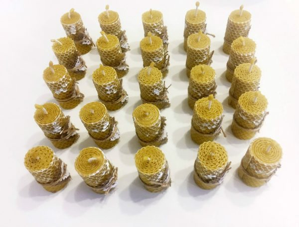 marturii-nunta-botez-fagure-ceara-albine-decorate